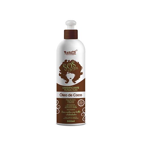 Creme Umidificante Ronetti SOS Óleo de Coco - 300 ml