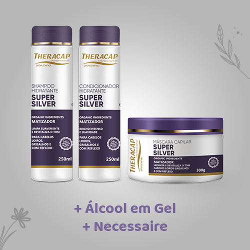 Kit Theracap Linha Silver + BRINDES