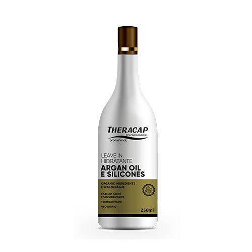 Leavein Silicone Óleo de Argan - 250 ml