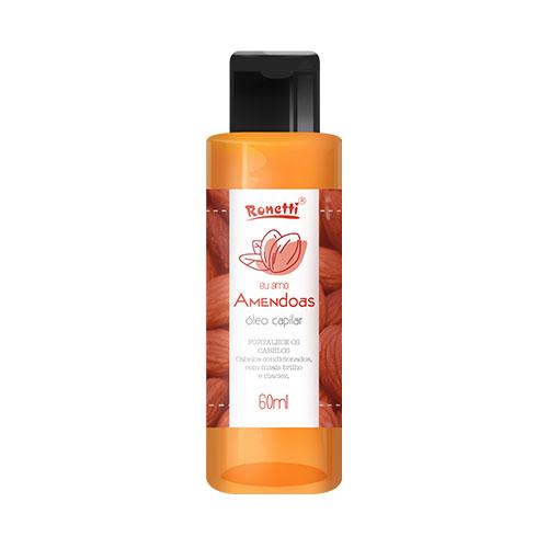 Óleo Capilar Ronetti Amêndoas - 60 ml