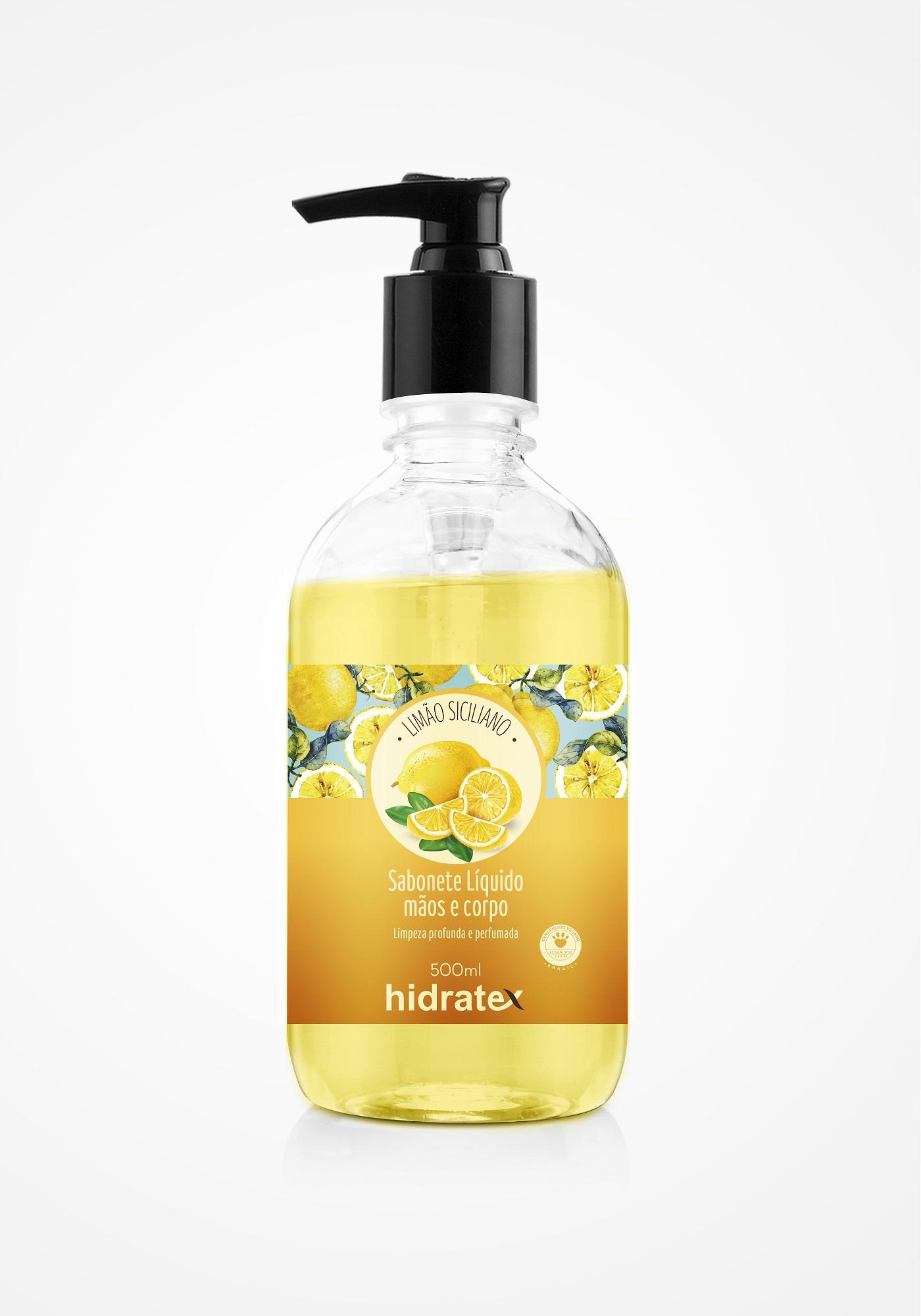 Sabonete Mãos e Corpo Hidratex Limão Siciliano 500ml