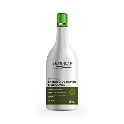 Shampoo Extrato de Bambu - 500 ml