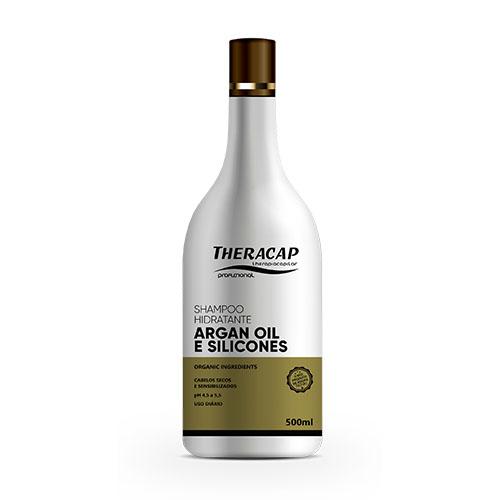 Shampoo Silicone Óleo de Argan - 500 ml