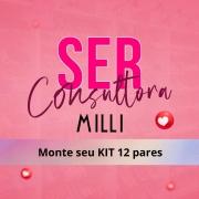 MONTE SEU KIT 12 PARES / CONSULTORA / MILLI
