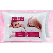 Travesseiro Juma Par 200 Fios - Fibra Siliconada, Lavável, antialérgico, Extra Macio