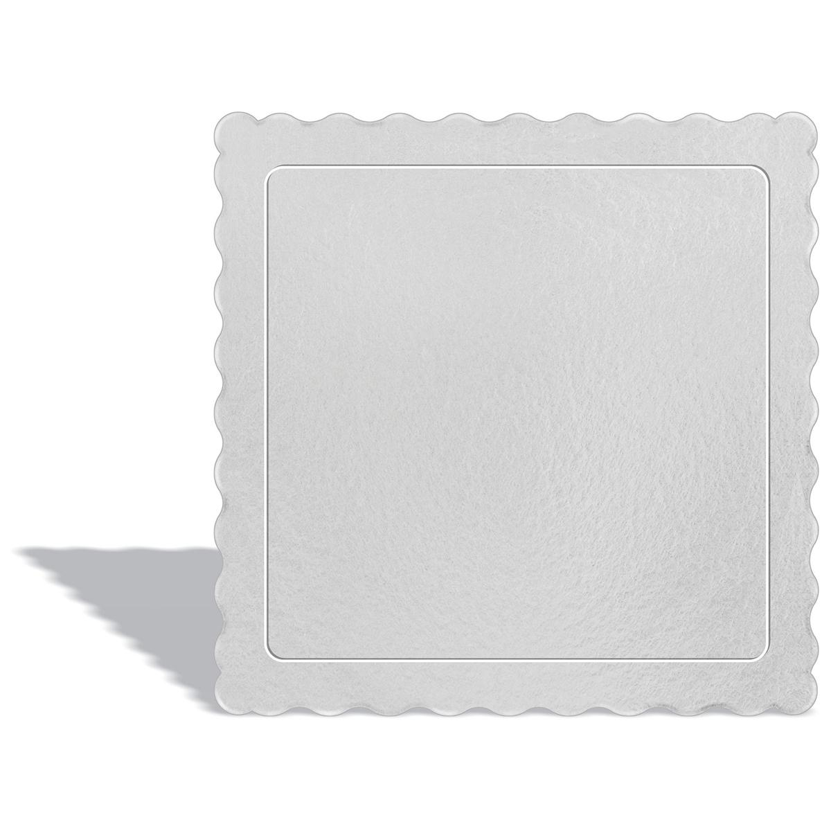 100 Bases Laminadas Para Bolo Quadrado, Cake Board 28x28cm