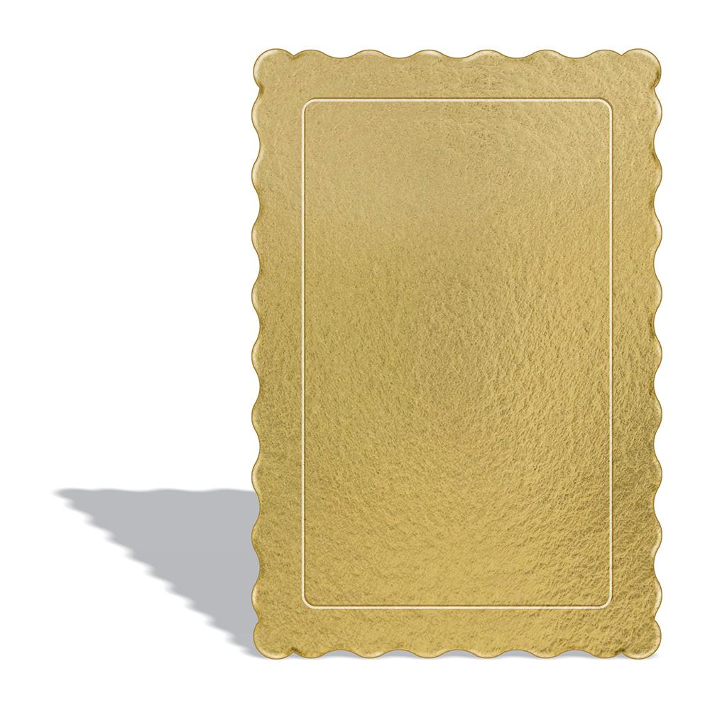 100 Bases Laminadas Para Bolo Retangular, Cake Board 30x20cm