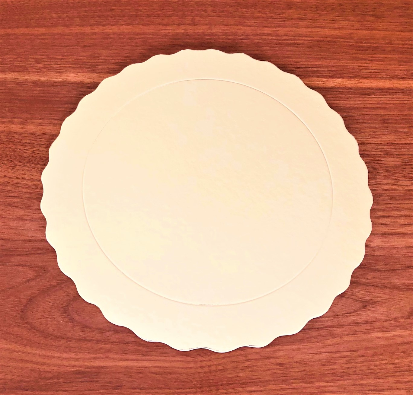 100 Bases Laminadas, Suporte P/ Bolo, Cake Board, 38cm - Ouro