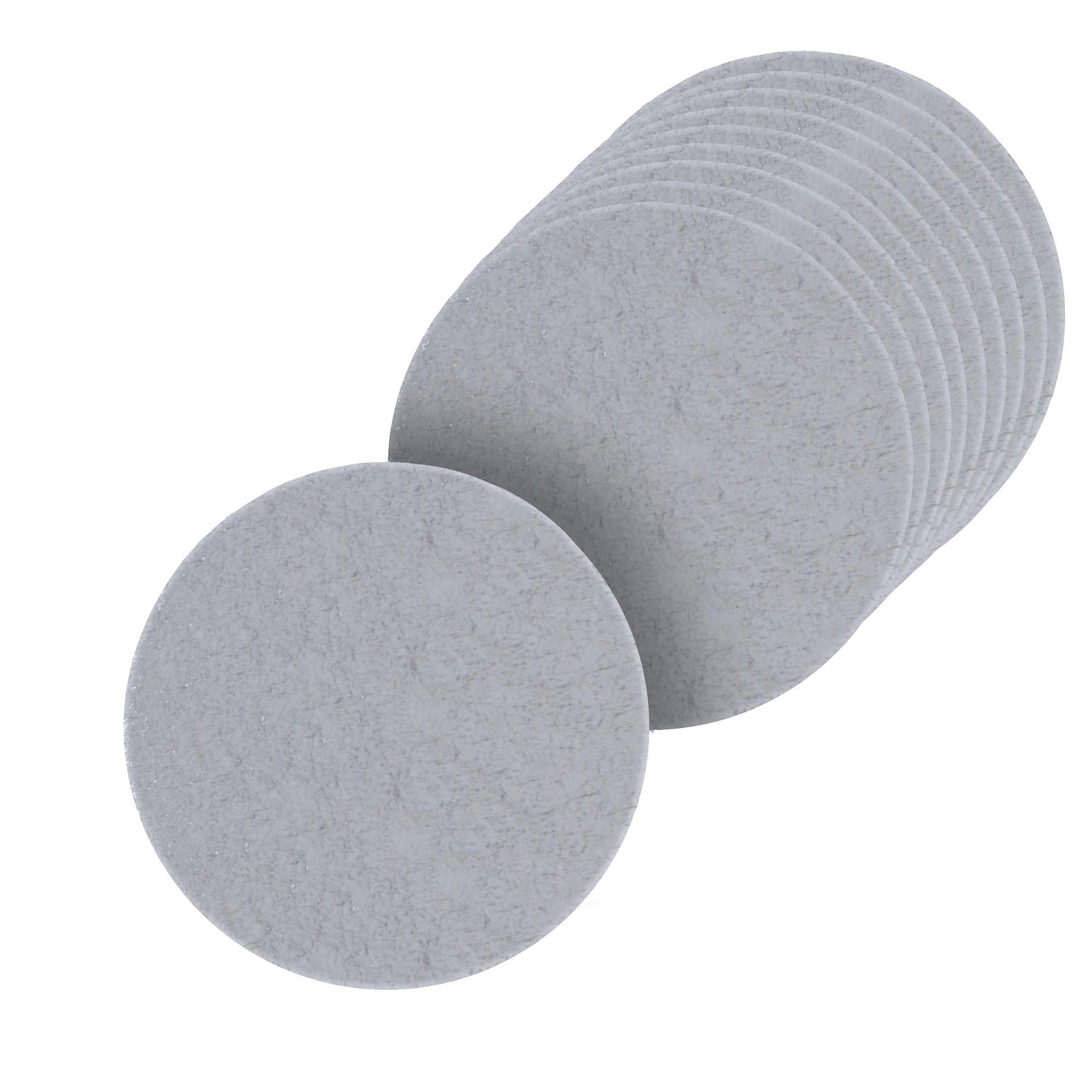 100 Bases Laminadas, Suporte P/ Doces, Disco 6cm - Prata