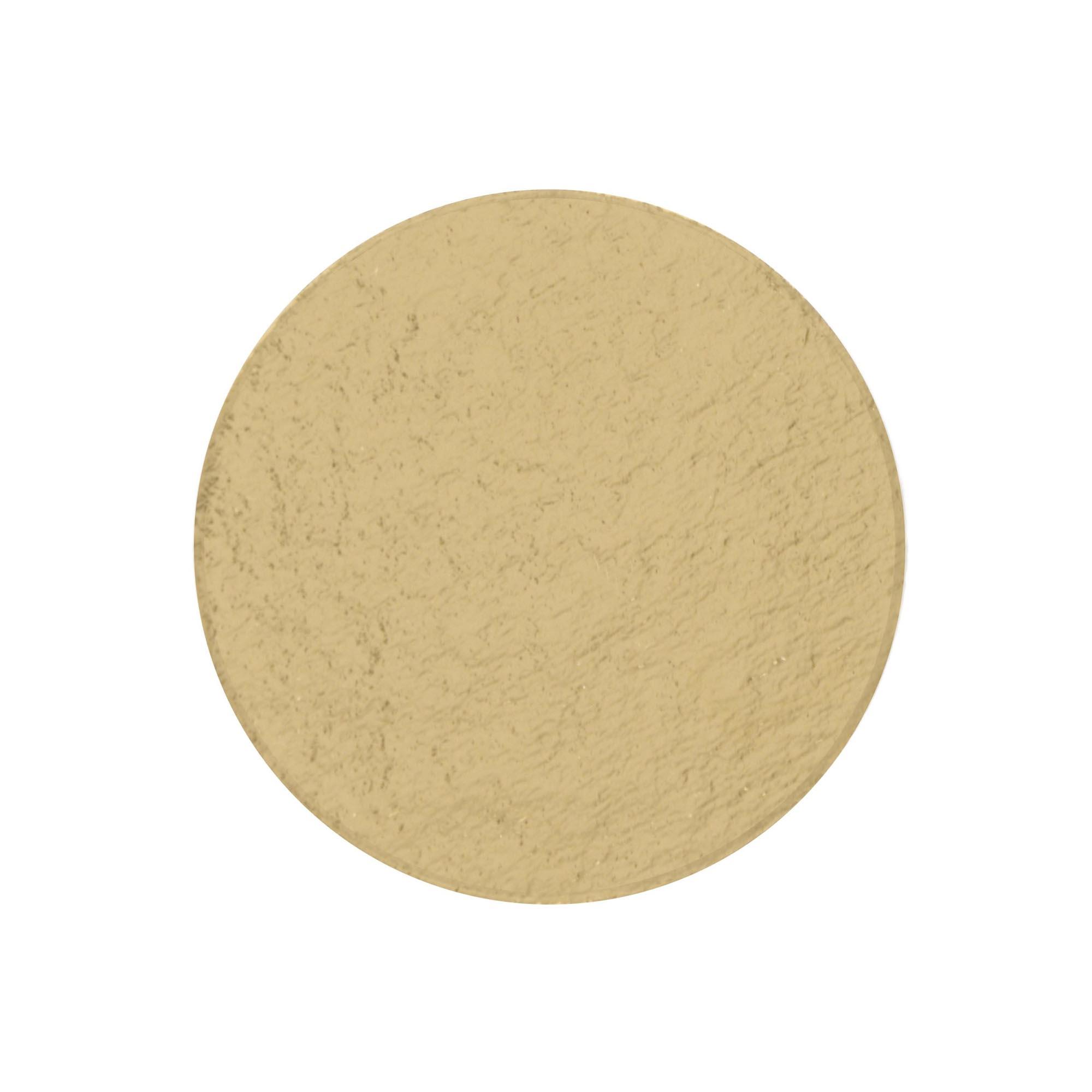 200 Bases Laminadas, Suporte P/ Brigadeiros e Doces, Disco 6cm - Ouro