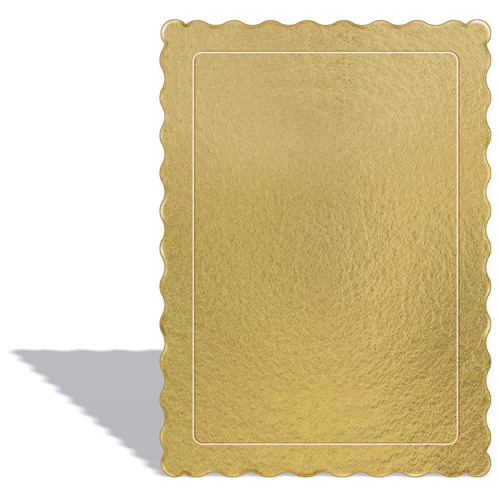 50 Bases Laminadas Para Bolo Retangular, Cake Board 35x25cm