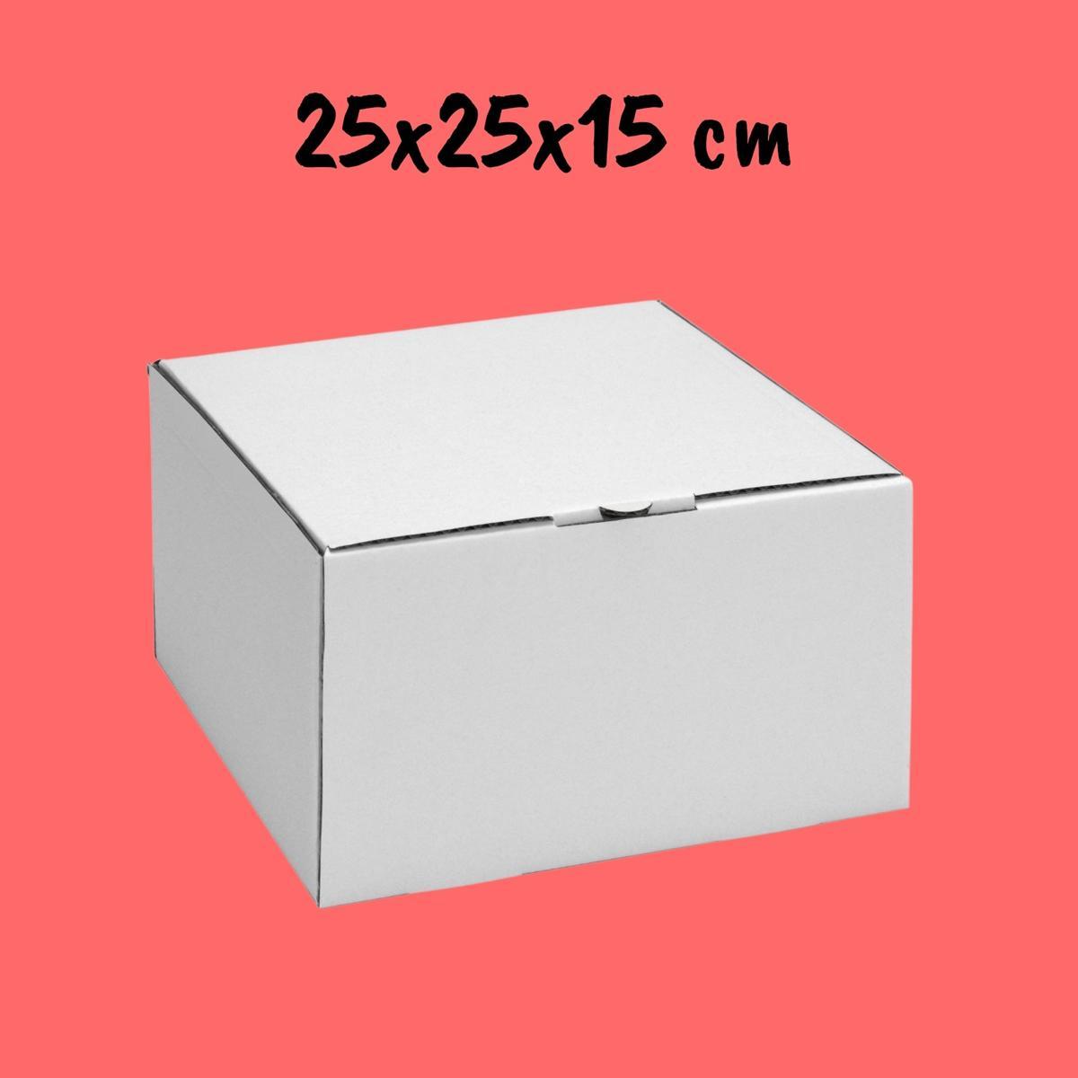 Caixa Para Bolo 25x25x15cm - Pacote com 25 unidades