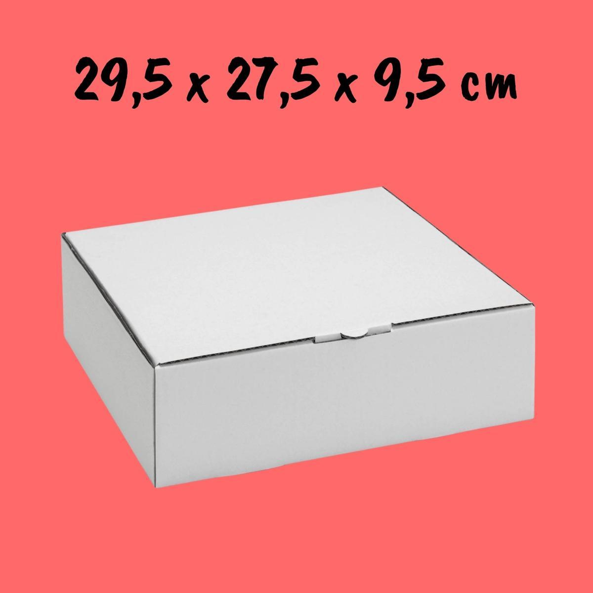 Caixa Para Bolo 29,5x27,5x9,5cm - Pacote com 10 unidades