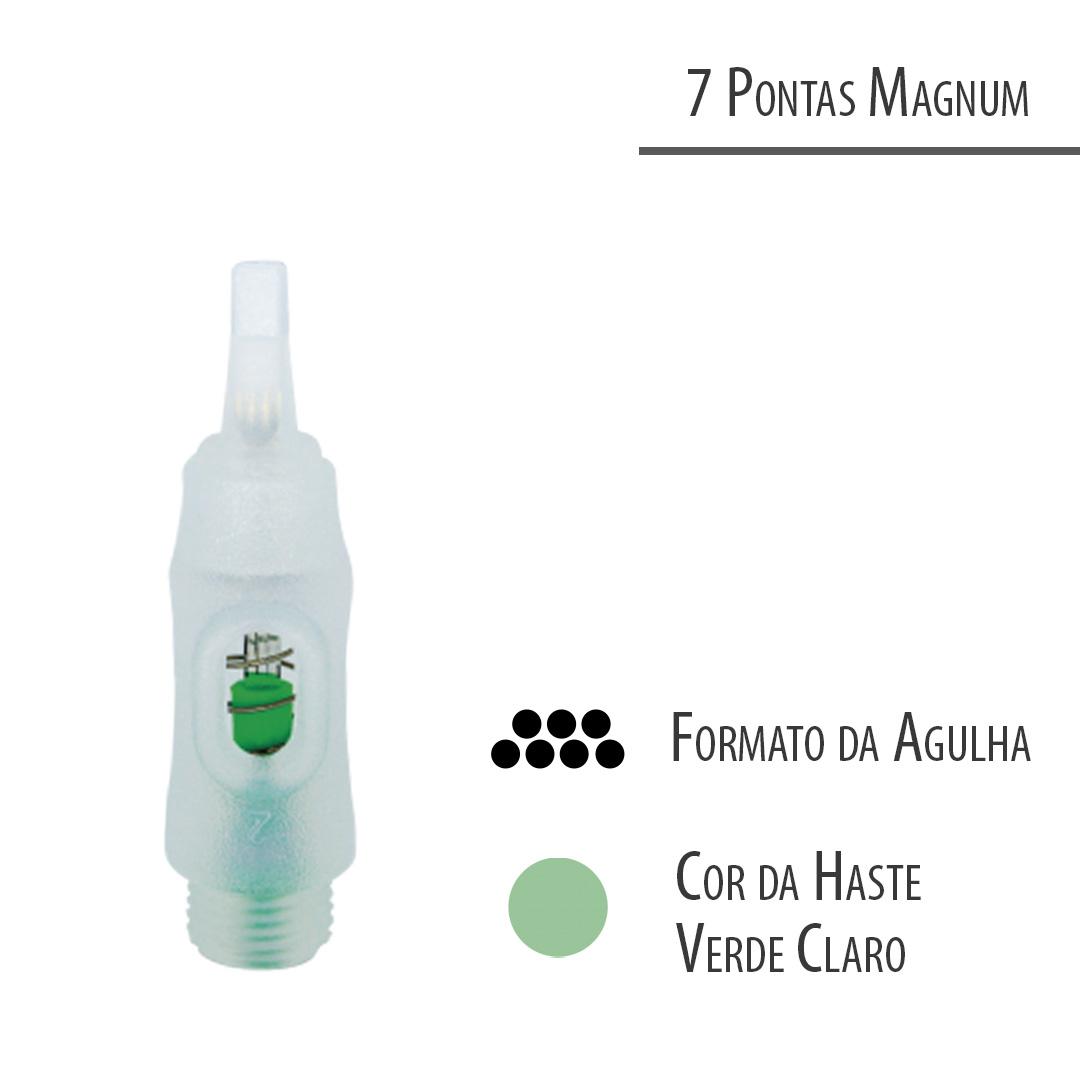Agulha Click C - 7 Pontas Magnum - GR Colors