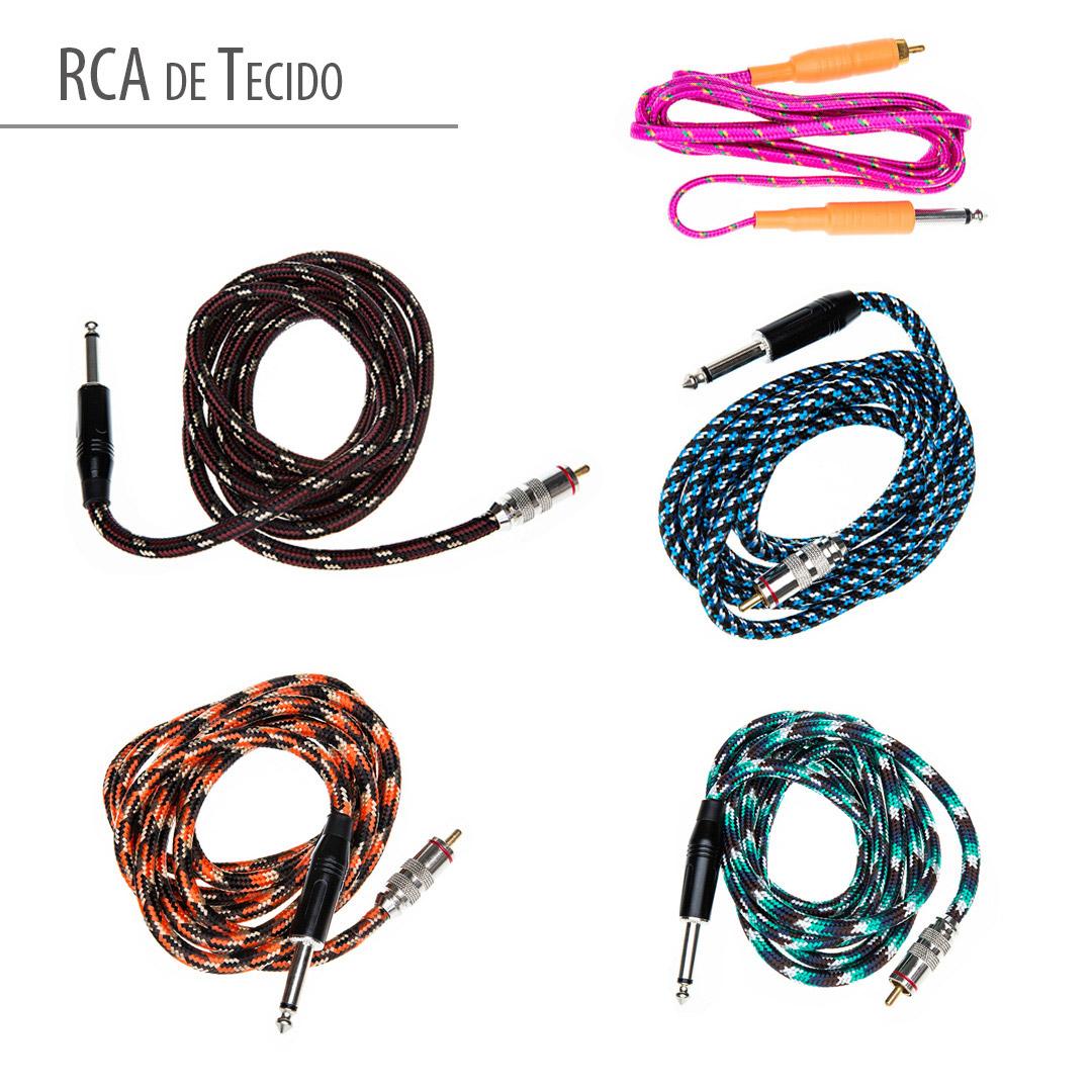 Cabo  RCA com Nylon
