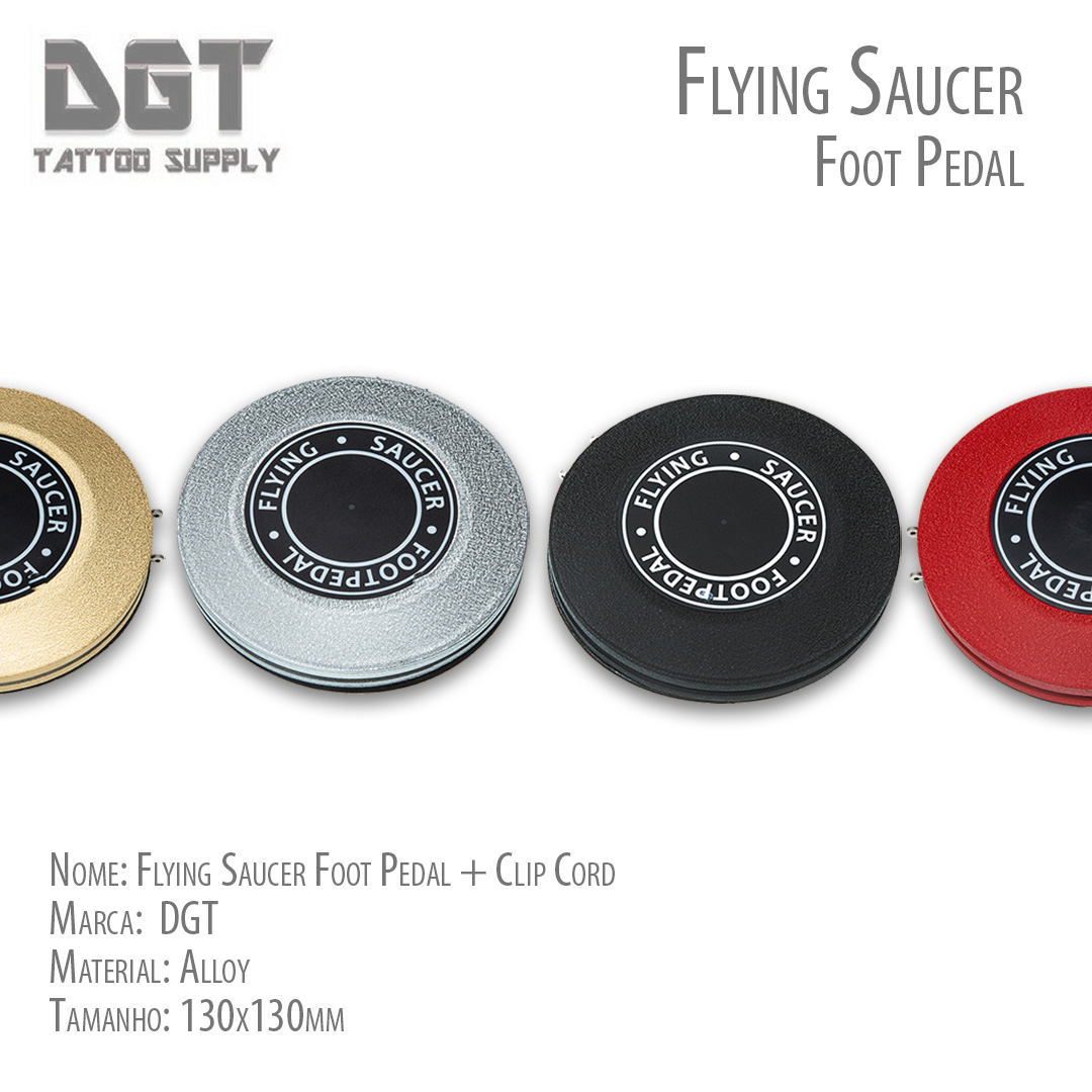 Flying Saucer Footpedal