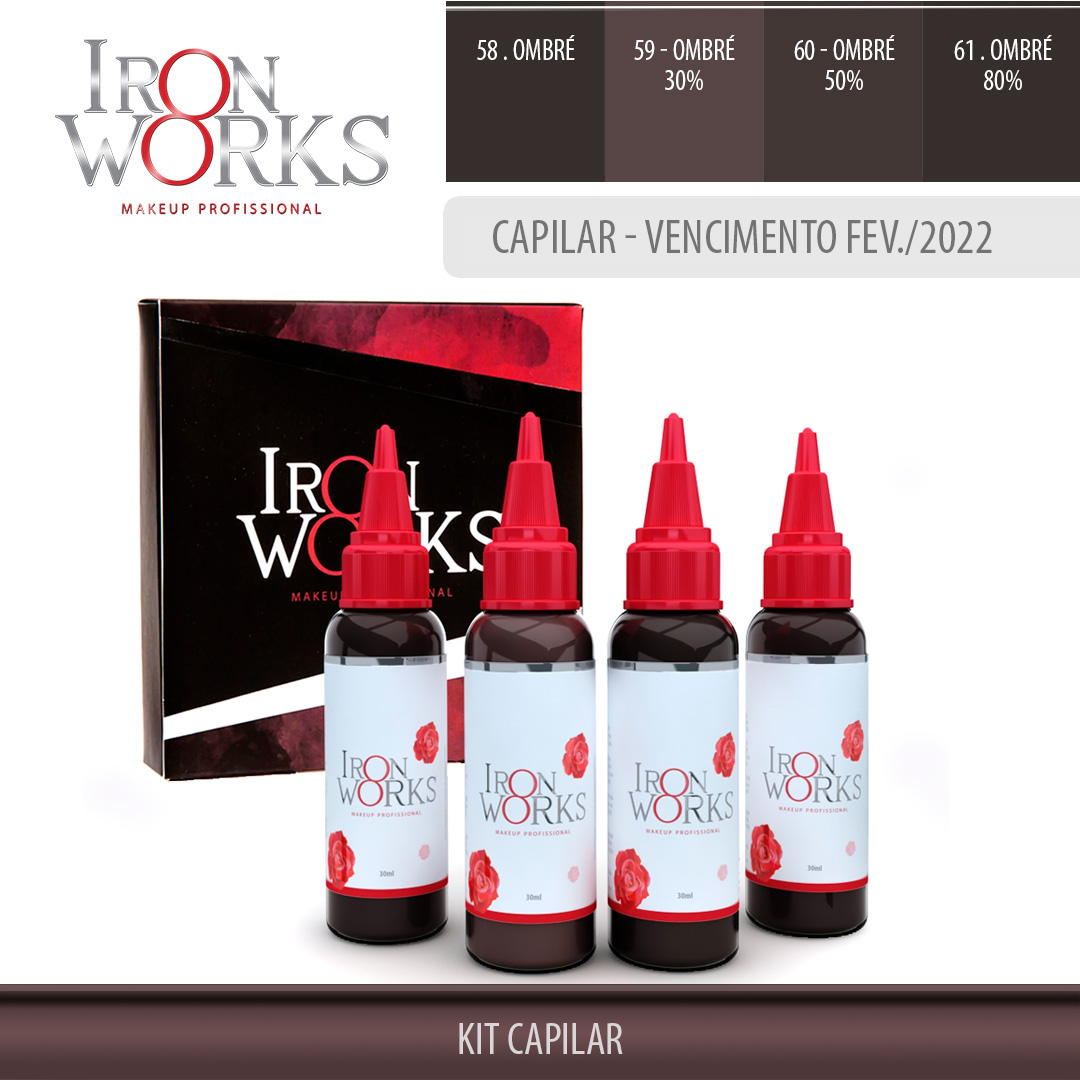 Kit Capilar 30ml - Makeup - Venc. Fev/2022