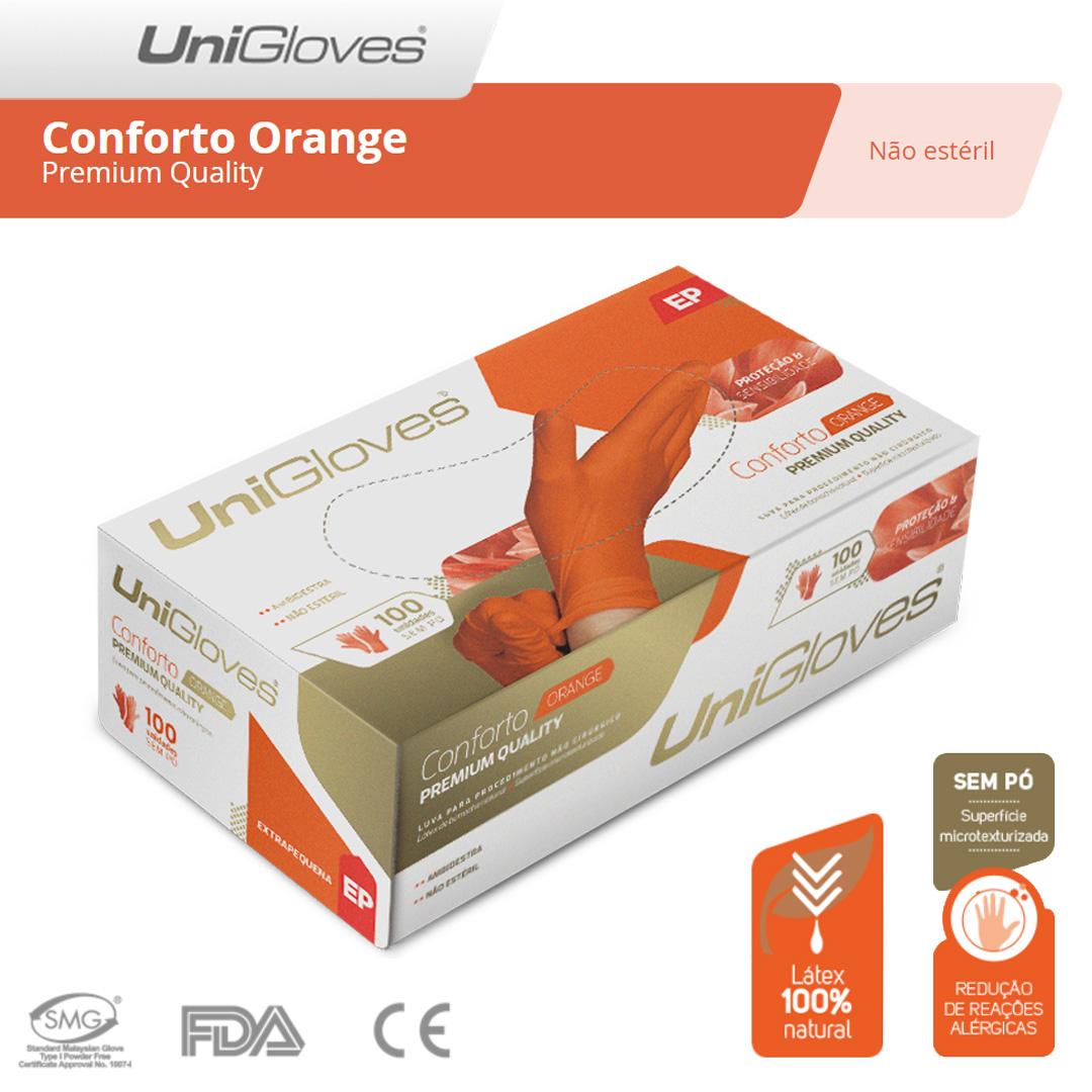 Unigloves Conforto Orange - Premium Quality