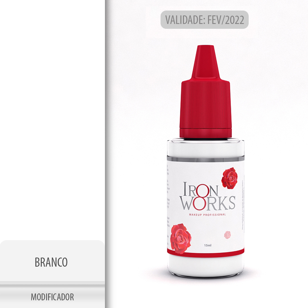 Modificador Branco 15ml - Makeup - val. Fev22
