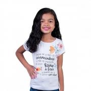 Blusa Infantil Vinde a Mim as Criancinhas - Tamanho 8