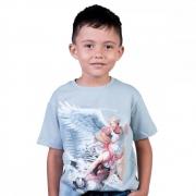 Camiseta Infantil São Miguel Arcanjo - TAM 8