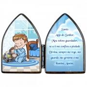 Capelinha Oração Anjo da Guarda - Menino