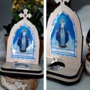Capelinha Porta Intenções - Maria Passa na Frente