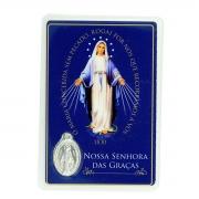 Cartão Medalha Milagrosa