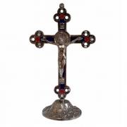 Crucifixo Metal - Prata