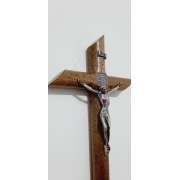 Cruz Cilíndrica de Parede - 25cm
