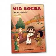 Livro Via Sacra para Crianças
