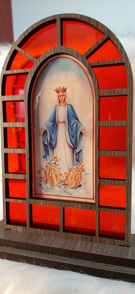 Capela Vitral em MDF