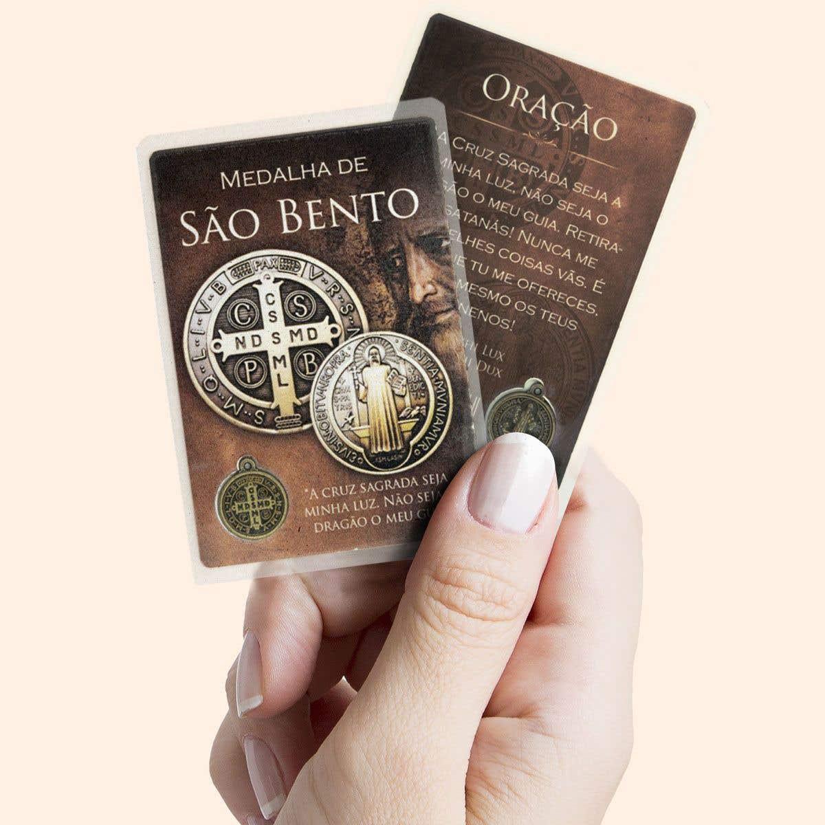Cartão Medalha de São Bento