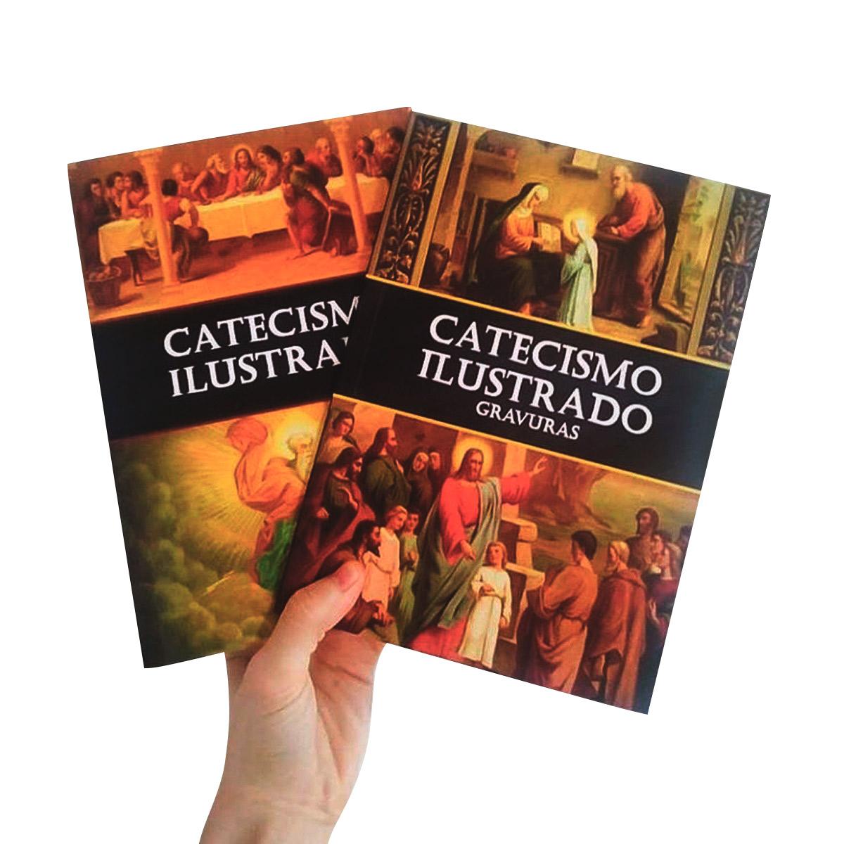 Catecismo ilustrado (2 vols.) Texto e gravuras