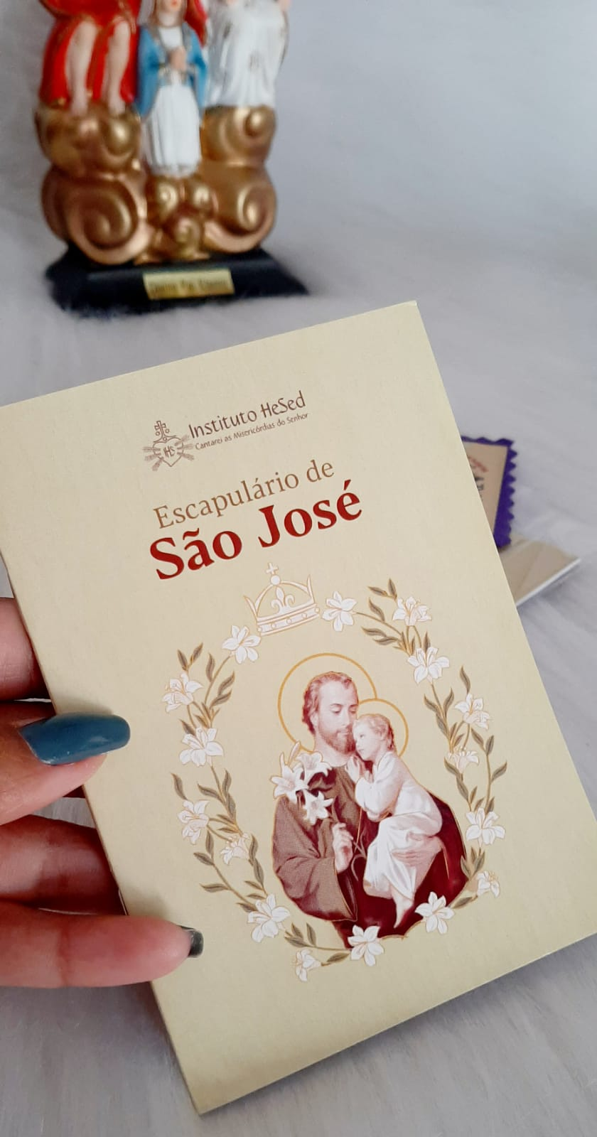 ESCAPULÁRIO DE SÃO JOSÉ