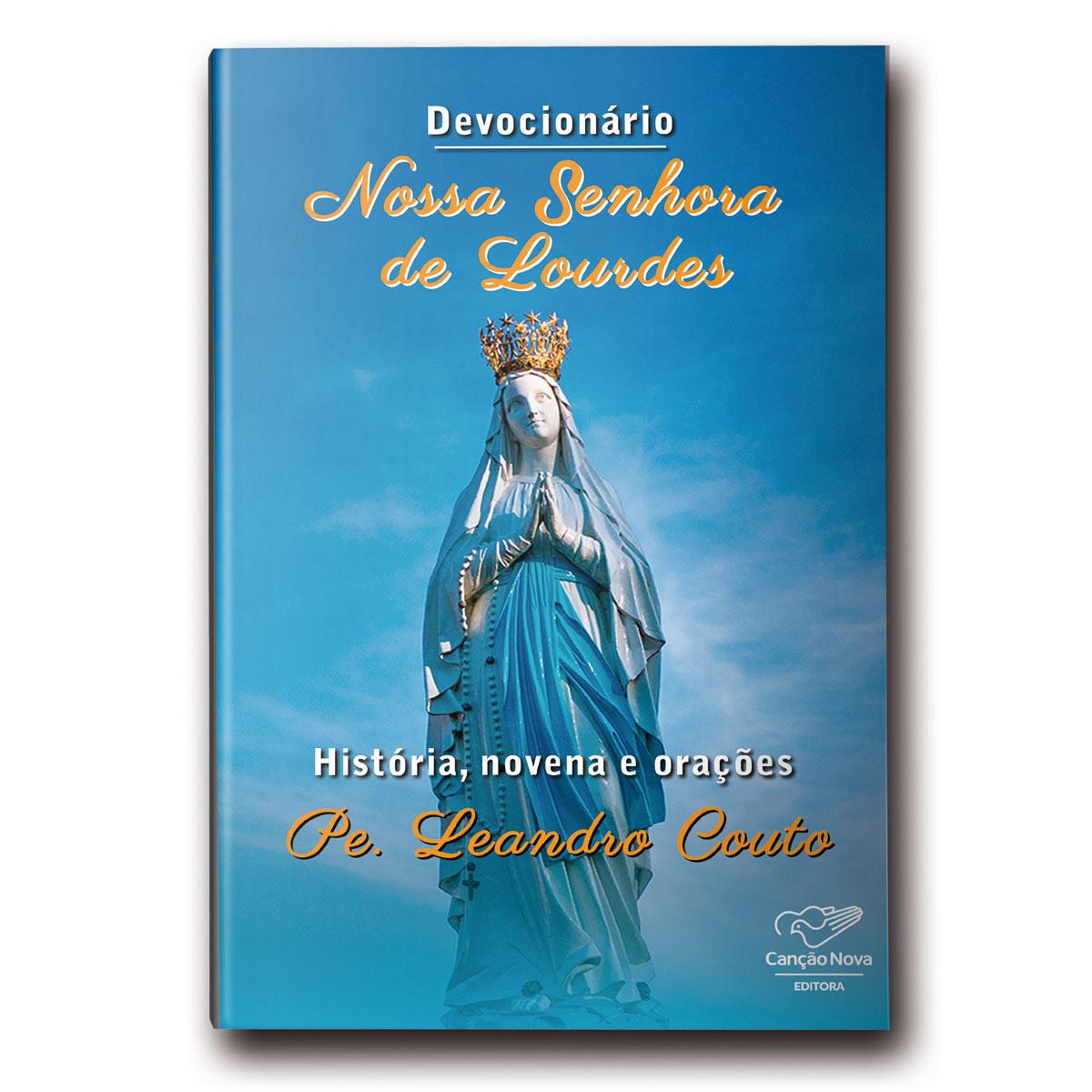 Livro Devocionário Nossa Senhora de Lourdes