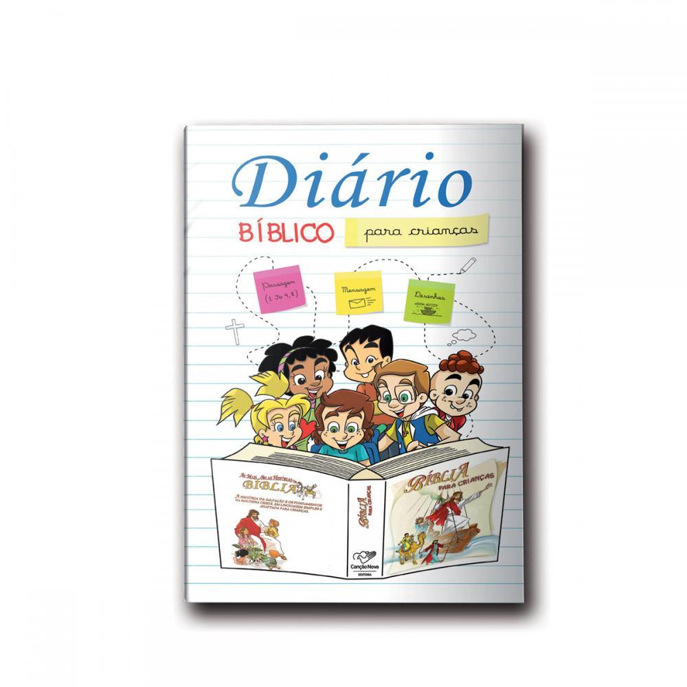 Livro Diário Bíblico para Crianças