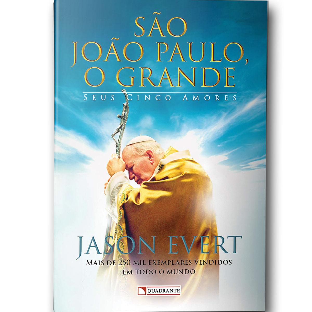 Livro São João Paulo II, O Grande - Jason Evert