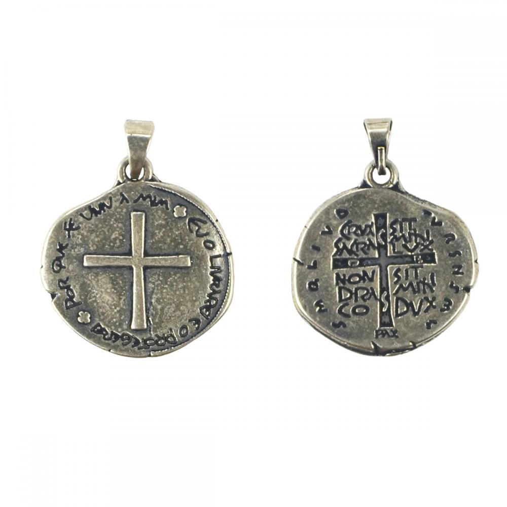 Medalha das Duas Cruzes - Cor Prata