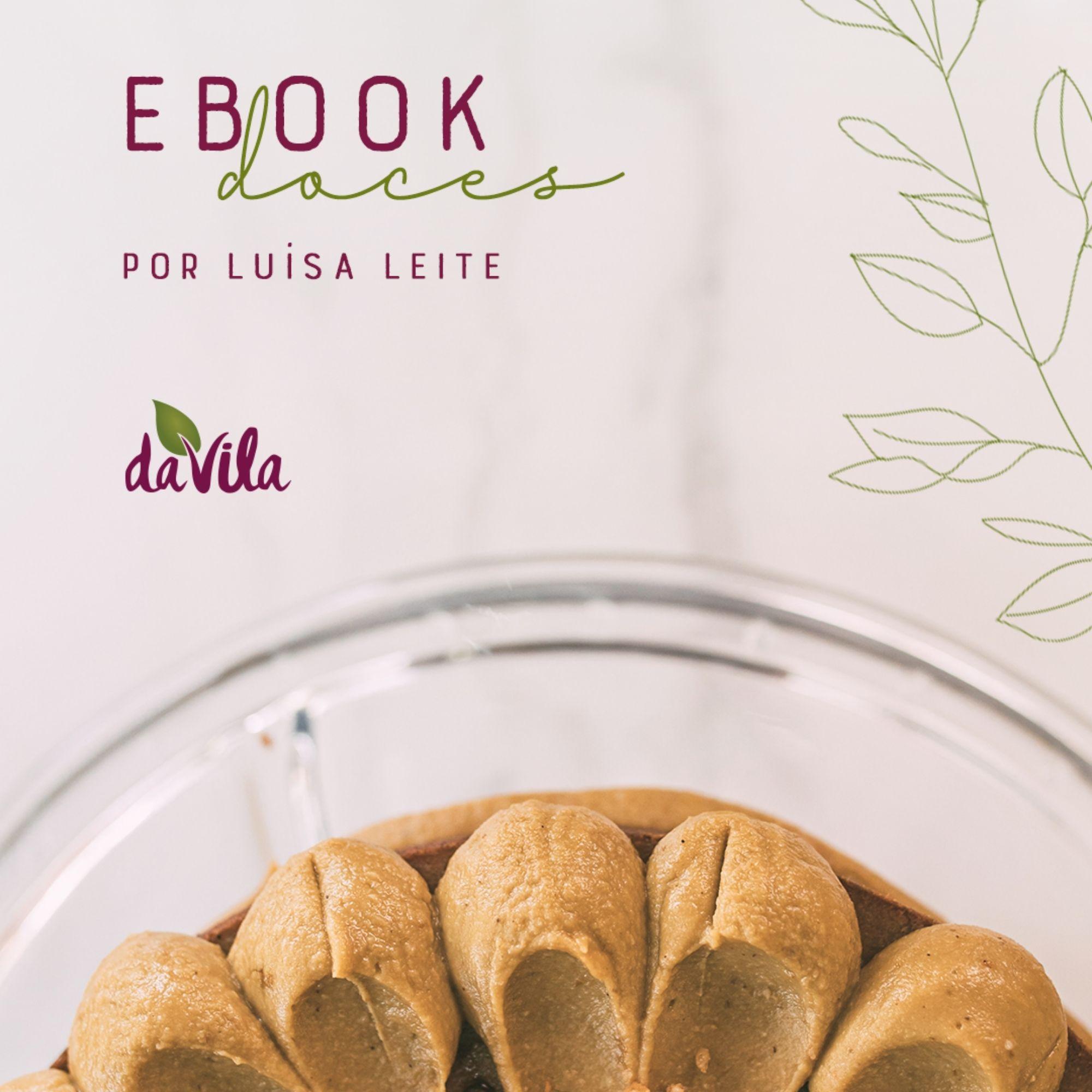 E-Book Doces Saudáveis