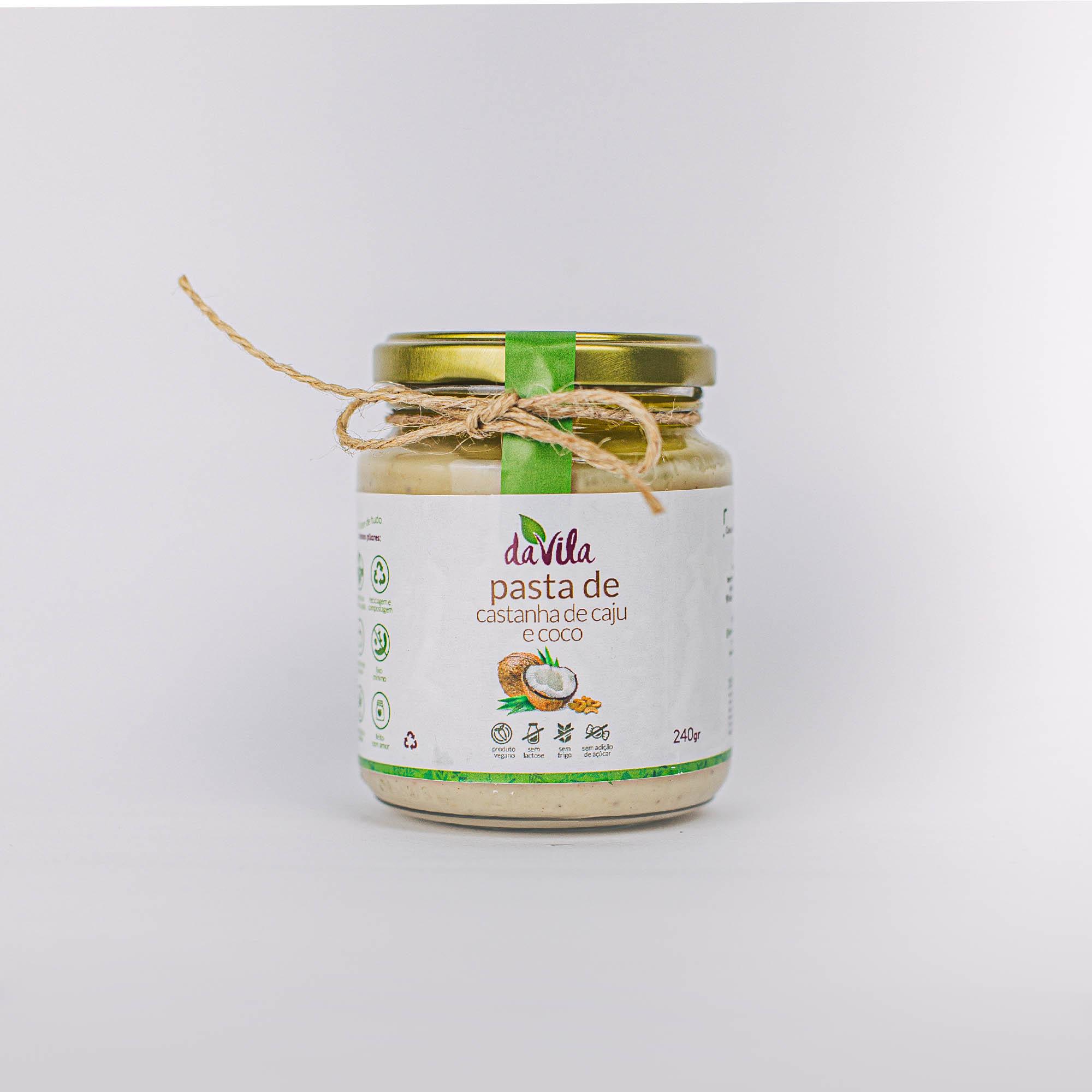 Pasta de Castanha de Caju & Coco 240ml/220g