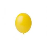 Balão de Látex Redondo nº 09- Amarelo