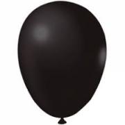 Balão de Látex Redondo nº 09- Preto- Santa Clara- 50 Balões