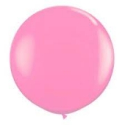 Balão de Látex Redondo nº 09- Rosa Bebe