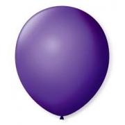 Balão de Látex Redondo nº 09- Roxo