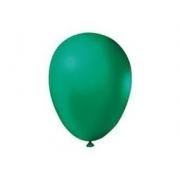 Balão de Látex Redondo nº 09- Verde- Santa Clara
