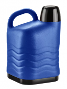 Botijão Térmico 5L Quente/Frio Azul Invicta
