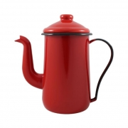 Bule Esmaltado Vermelho Mãe Ágata N.14 Ref.145004 - Ewel