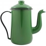 Bule para Café Tradicional 14 Esmaltado Verde - 1500 ml - Ewel, Linha Mãe Ágata