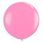 CÓPIA - Balão de Látex Redondo nº 09- Rosa